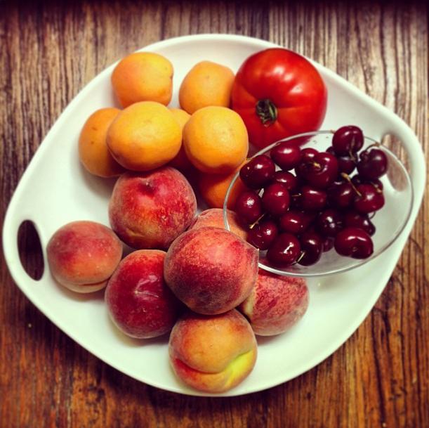 Comer mucha fruta es malo